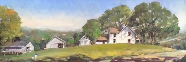 Painting - Morning On The Farm by Marty Coulter