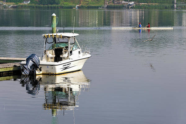 Photograph - Morning On The Navesink River 2 by Gary Slawsky