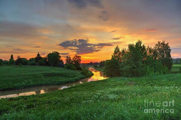 Salo Wall Art - Photograph - Morning On The River by Veikko Suikkanen