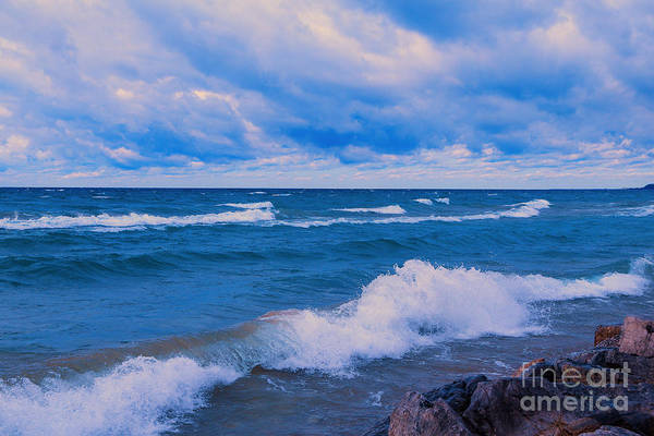 Photograph - Morning On The Waves by Rachel Cohen