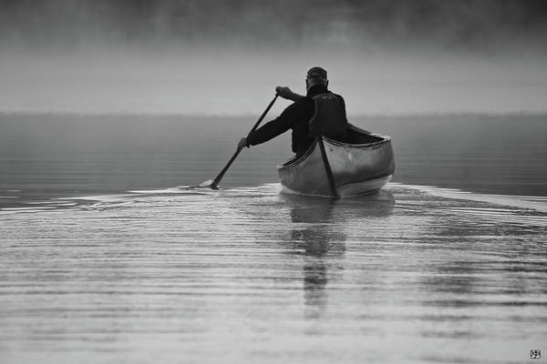 Morning Paddle Art Print