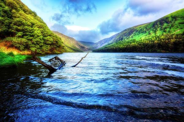 Photograph - Morning Peace At The Lake by Debra and Dave Vanderlaan
