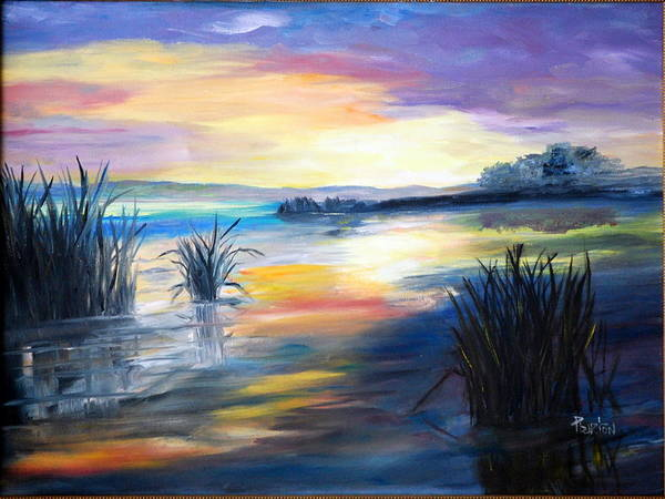 Painting - Morning by Phil Burton