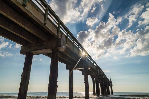 Wall Art - Photograph - Morning Pier by Kristopher Schoenleber