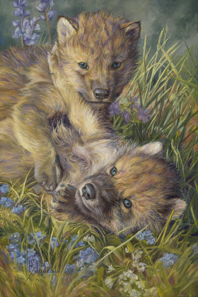 Painting - Morning Play by Lucie Bilodeau