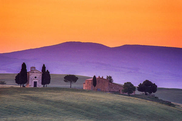 Wall Art - Photograph - Morning Prayer In A Tuscan Dawn by Andrew Soundarajan