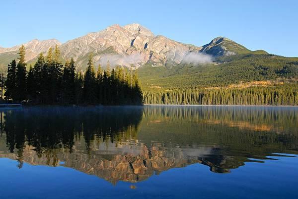 Photograph - Morning Reflection At Pyramid Lake by Larry Ricker