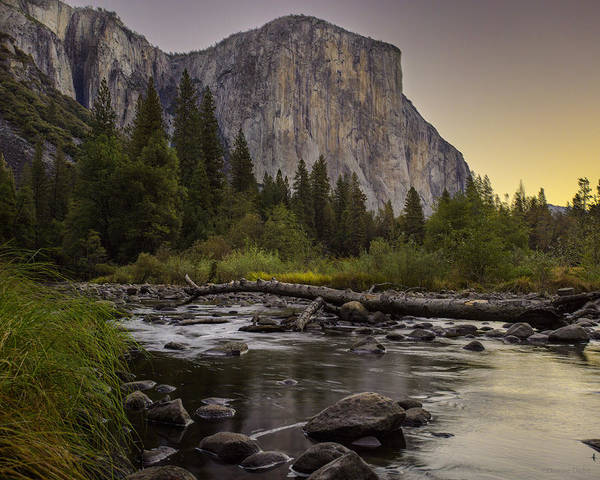 Morning Salutes El Capitan Art Print