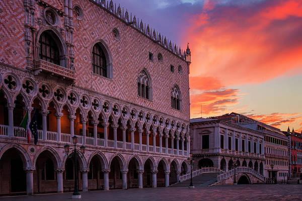 Wall Art - Photograph - Morning Skies Over Venice by Andrew Soundarajan