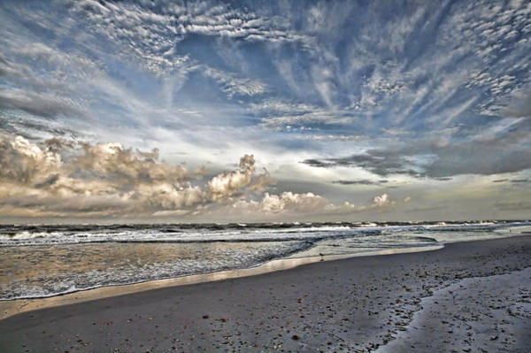 Wall Art - Photograph - Morning Sky At The Beach by HH Photography of Florida