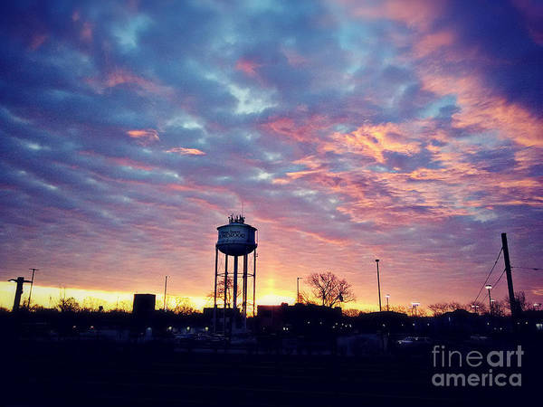 Photograph - Morning Sky Home Sweet Homewood by Frank J Casella