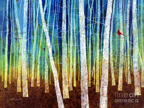 Songbird Painting - Morning Song I by Hailey E Herrera