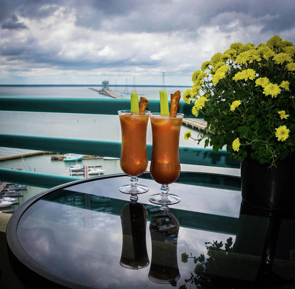 Wall Art - Photograph - Bloody Mary Morning by Linda Eszenyi