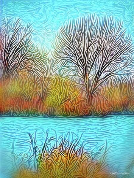 Digital Art - Morning Stillness Contemplations by Joel Bruce Wallach