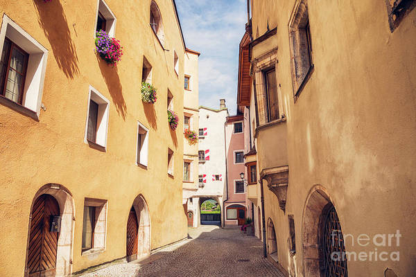 Photograph - morning street in small town Rottenberg by Ariadna De Raadt
