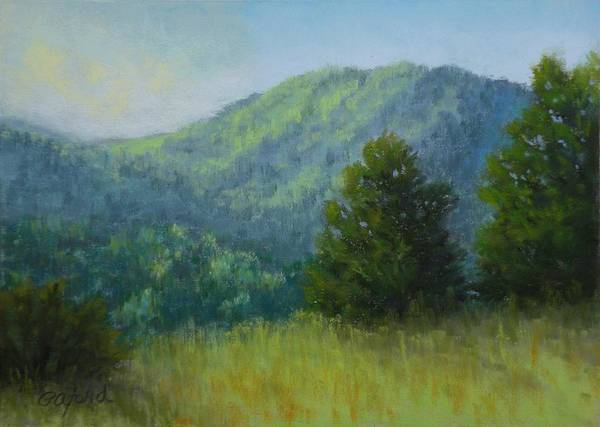 Wall Art - Painting - Morning Sun In The Mountains by Paula Ann Ford
