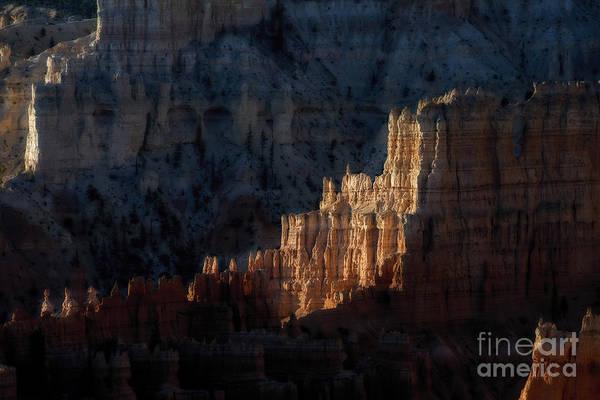 Photograph - Morning Sun On Rock Formation Bryce National Park by Dan Friend