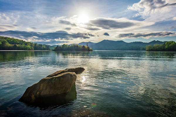 Ocoee Photograph - Morning Sunlight On The Lake by Debra and Dave Vanderlaan