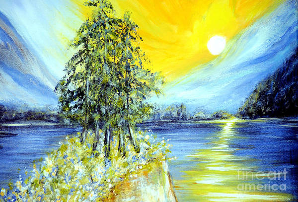 Painting - Morning Sunrise 6.2 by Oksana Semenchenko