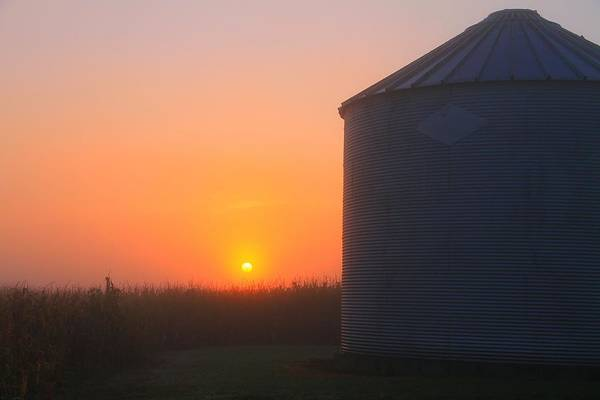 Wall Art - Photograph - Morning Sunrise On The Farm by Dan Sproul