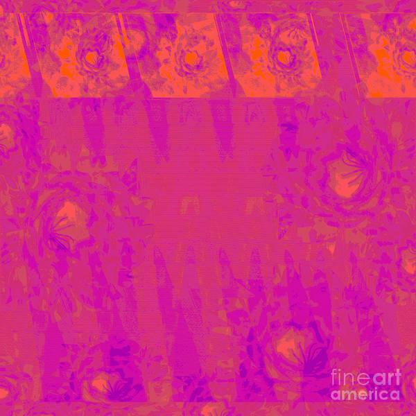 Wall Art - Mixed Media - Cactus At Sunset by Zsanan Studio