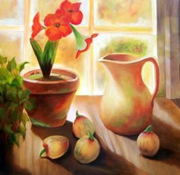 Painting - Morning Sunshine by Susan Dehlinger