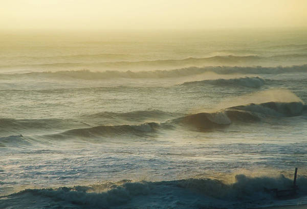 Photograph - Morning Surf by Gerlinde Keating - Galleria GK Keating Associates Inc