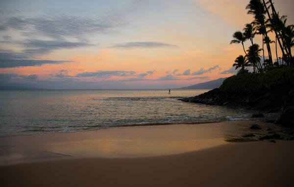 Napili Bay Photograph - Morning Paddle Out by Kelly Wade