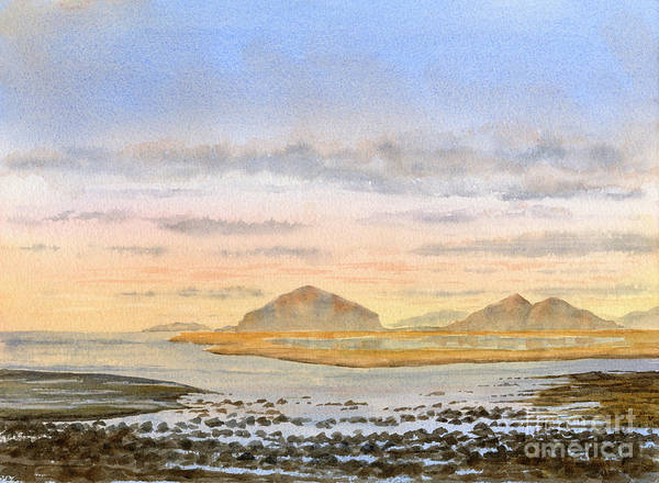 Wall Art - Painting - Morning Tide, Sunrise by Sharon Freeman