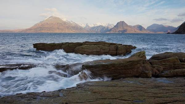 Photograph - Morning Tides At Elgol by Stephen Taylor