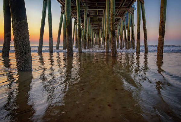 Orchard Photograph - Morning Under The Pier, Old Orchard Beach by Rick Berk