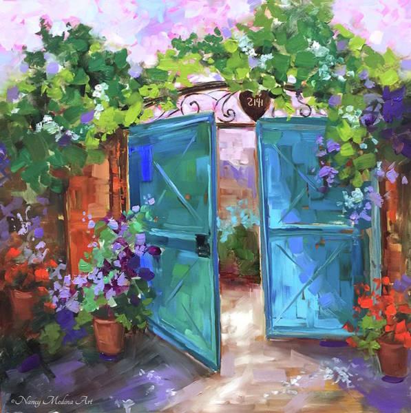 Southern France Painting - Morning Vieux by Nancy Medina