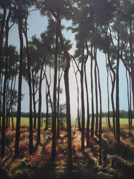 Painting - Morning Walk. by Caroline Philp