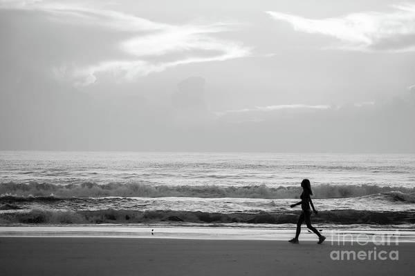 Photograph - Morning Walk by Ed Taylor
