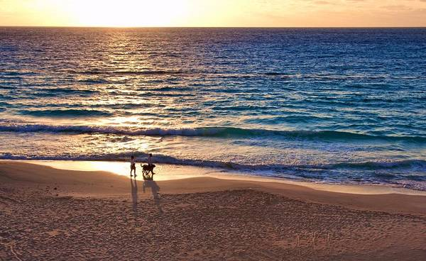 Photograph - Morning Walk On The Beach by Tatiana Travelways