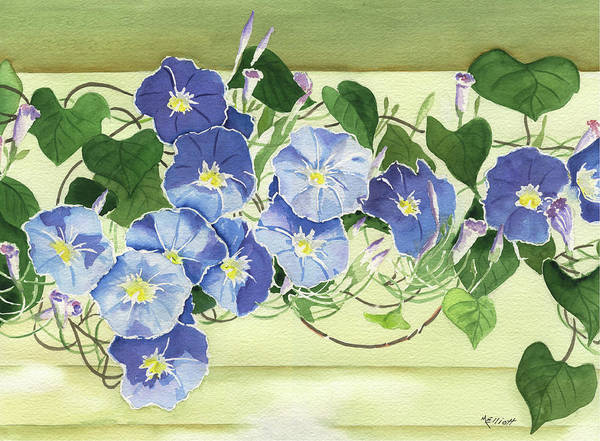 Glory Painting - Mornings Glory by Marsha Elliott