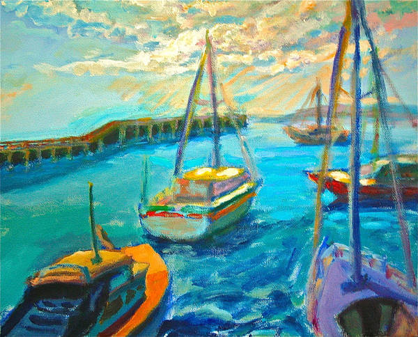 Painting - Mornington Pier by Yen