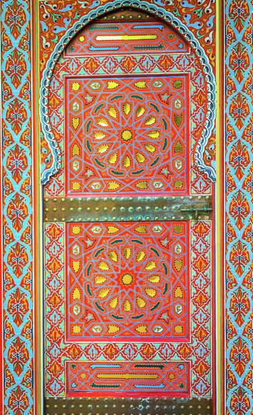 Wall Art - Photograph - Moroccan Door by Aaron Geraud
