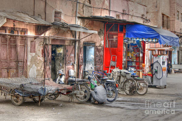 Photograph - Moroccan Gas Station by David Birchall
