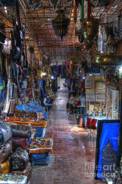 Photograph - Moroccan Souk by David Birchall