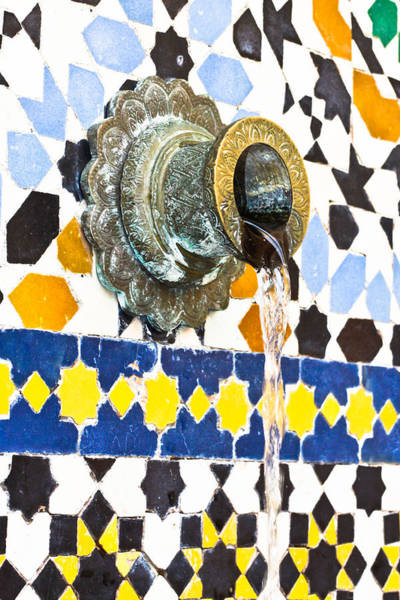 Facilities Photograph - Moroccan Tap by Tom Gowanlock