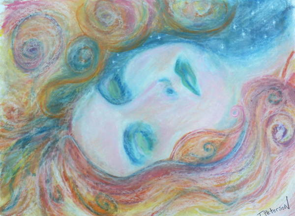 Painting - Morpheus Embrace by Todd  Peterson