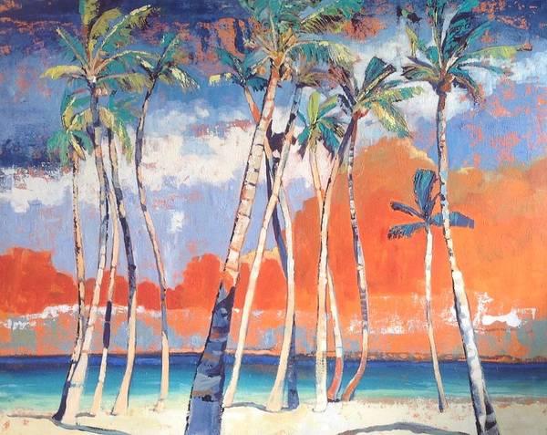 Caribbean Wall Art - Painting - Morris Bay by Jan Farara