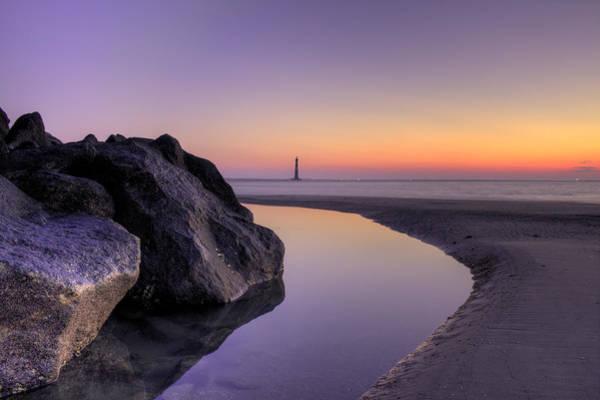Photograph - Morris Island Lighthouse Before Sunrise by Dustin K Ryan