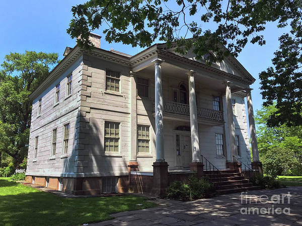 Photograph - Morris-jamel Mansion  by Steven Spak