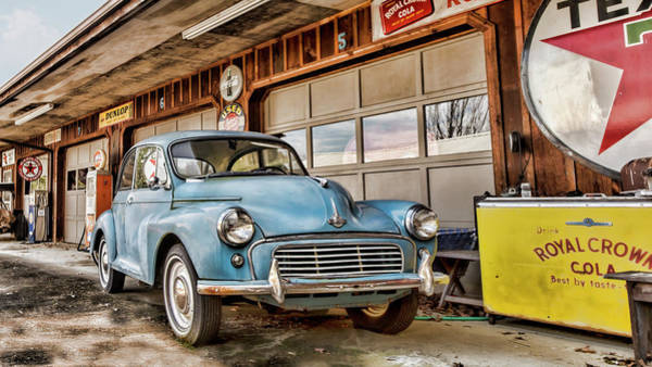 Photograph - Morris Minor by Heather Applegate