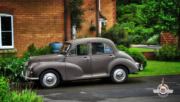 Photograph - Morris Minor by Pennie McCracken