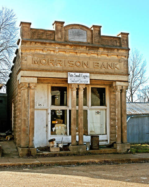 Photograph - Morrison Bank by Marty Koch