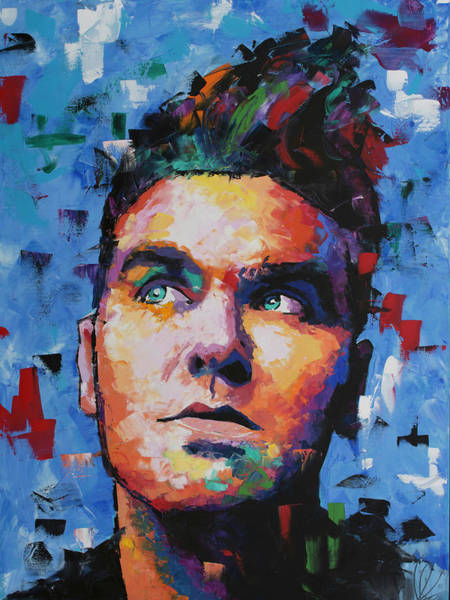Indie Wall Art - Painting - Morrissey by Richard Day