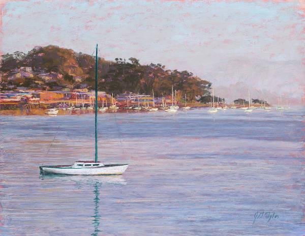 Morro Bay Painting - Morro Sails by Jim Tyler